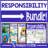 Character Education Responsibility BUNDLE:  All Responsibility Activities
