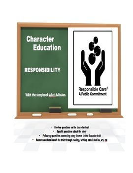 Character Education:  Responsibility with Alia's Mission book