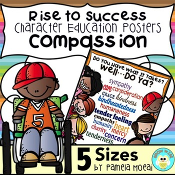 """SEL Character Education:  Rise to Success """"Compassion"""""""