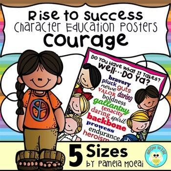 """SEL Character Education:  Rise to Success """"Courage"""""""