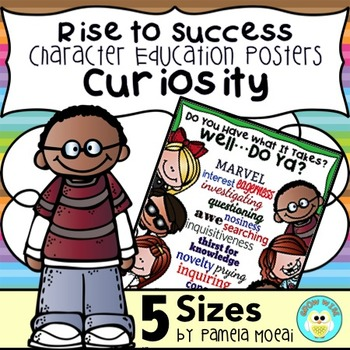 """SEL Character Education:  Rise to Success """"Curiosity"""""""