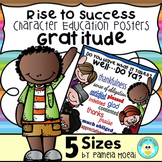 "SEL Character Education:  Rise to Success ""Gratitude"""