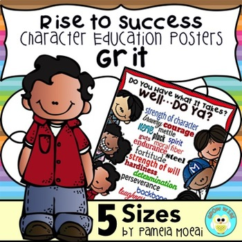"SEL Character Education:  Rise to Success ""Grit"""