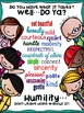 """SEL Character Education:  Rise to Success """"Humility"""""""