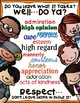 """SEL Character Education:  Rise to Success """"Respect"""""""