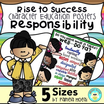 "SEL Character Education:  Rise to Success ""Responsibility"""