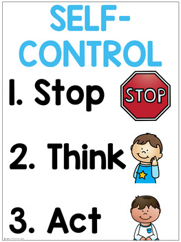 Shocking image throughout free printable self control worksheets