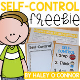 Social Emotional Learning: Self Control Lesson and Printables