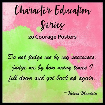 Character Education Series - Courage