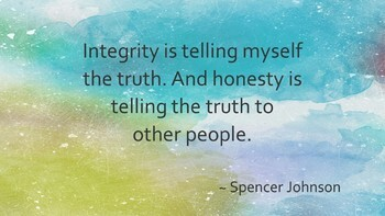 Character Education Series - Integrity