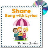 Character Education - Sharing Song (Generosity) - with Lyrics
