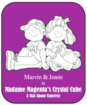 Character Education Skit - Courtesy 2 - Madame Magenta's Crystal Cube