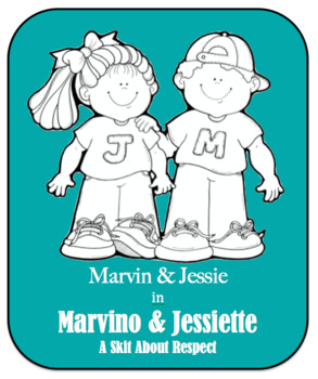 Character Education Skit - Respect - Marvino and Jessiette