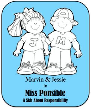 Character Education Skit - Responsibility - Miss Ponsible