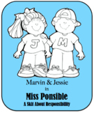 Character Education Skit - Responsibility - Miss Ponsible