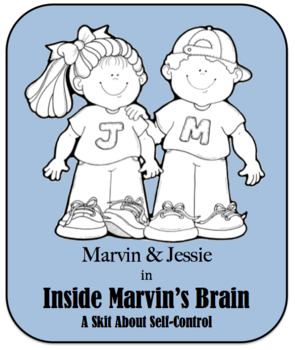 Character Education Skit - Self Control 1 - Inside Marvin's Brain