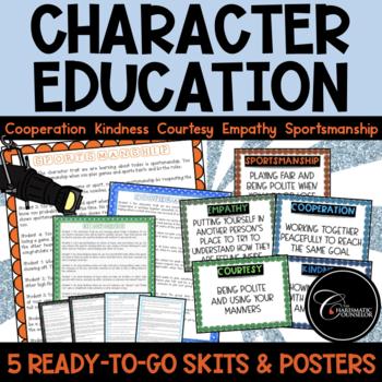 Character Education Skits BUNDLE 1