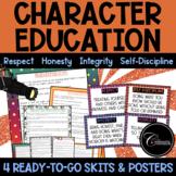 Character Education Skits / Respect Honesty Integrity Self