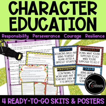 Character Education Skits BUNDLE 3
