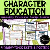 Character Education Skits / Responsibility Perseverance Co