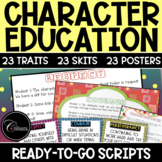 Character Education Skits BUNDLE (23 TRAITS)