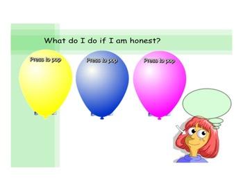 Character Education SmartBoard - Honesty