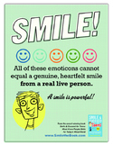 Character Education Poster -  Smile