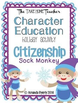 Character Education: Sock Monkey Citizenship