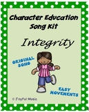 Character Education Song Kit INTEGRITY