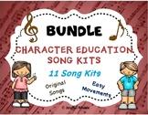 Character Education Song Kit BUNDLE 11 SONG KITS