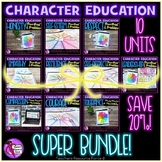 Character Education Activities for Students Super Bundle (10 units included)