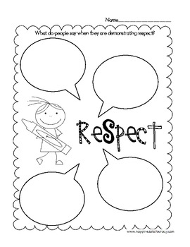 Character Education: Teaching the Concept of Respect