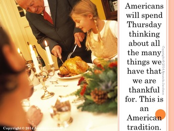 """Character Education: """"Thanks & Giving"""" Gratitude and Generosity Thanksgiving"""