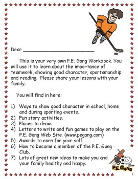 The Adventures of the P.E. Gang Student Workbook (Grades 4-5)