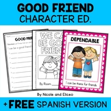 Character Education Unit - Friendship Activities