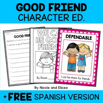 Character Education Good Friendship Activities