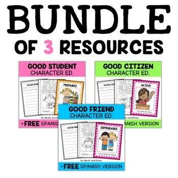 Character Education Unit Bundle
