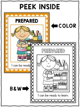 Character Education Unit - Good Student Activities