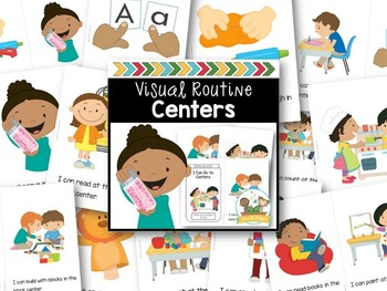 Character Education Visual Routine Bundle EDITABLE