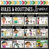 Character Education Visual Routine Bundle Preschool