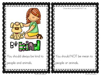 """Character Education - """"What Are Manners"""" Emergent Reader {K/1}"""