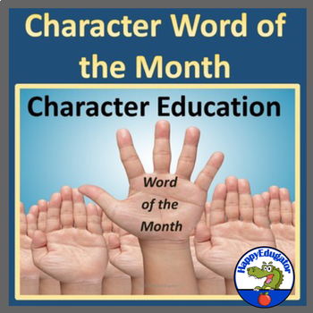 Character Education Word of the Month