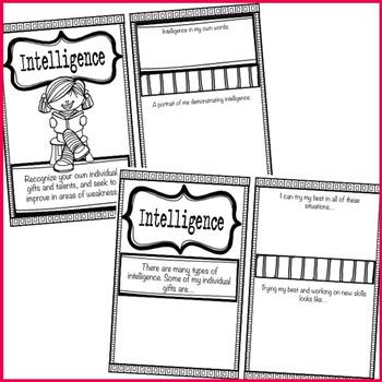 Character education worksheets elementary school
