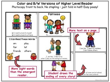 Character Education about FAIRNESS  No Prep K-2