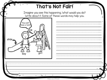 Character Education about FAIRNESS with Emergent Reader