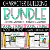 Character Education and Being a Good Citizen Worksheets an