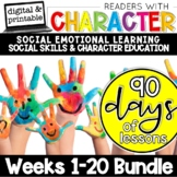 Character Education and Social Skills Intervention |  Social Emotional Learning