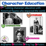 Character Education and Social Studies: Using History to T