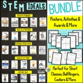 Character Education for STEM Classes: STEM Ideals Bundle
