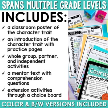 Character Education in the Classroom: COURAGE
